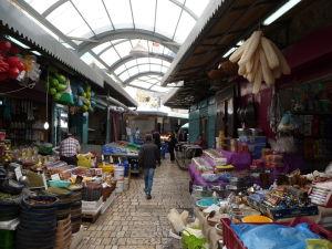 Tržnica v starom meste Akko