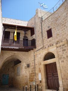 Jeden z kostolov v starom meste Akko