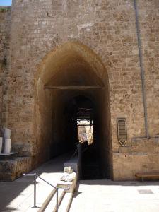 Vstup do pevnosti