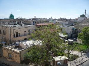 Výhľad na mesto Akko z jeho opevnenia