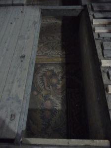 Chrám Narodenia - Nájdu sa tu aj pôvodné antické mozaiky