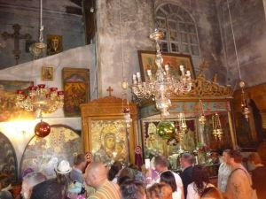 Chrám Narodenia - Bočná kaplnka