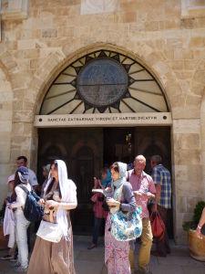 Vchod do Chrámu sv. Kataríny