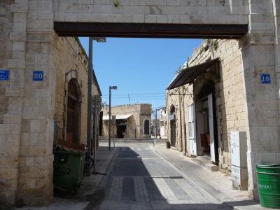Uličky starého mesta Jaffa