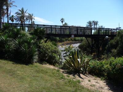 Obľúbený most v parku