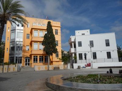 Bauhaus budovy v Tel Avive