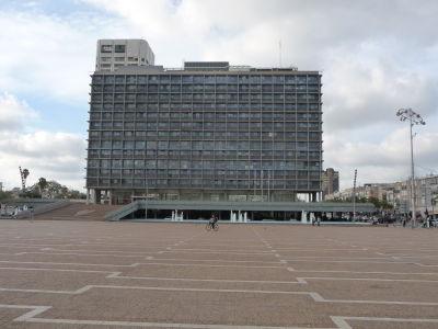Budova medzinárodných vzťahov na okraji Rabinovho námestia