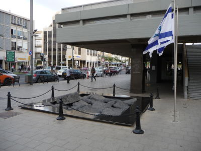 Pamätník Jicchakovi Rabinovi