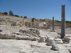 Ruiny starovekého mesta Amathus