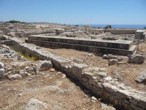 Amathus Akropolis - Pozostatky starovekého chrámu
