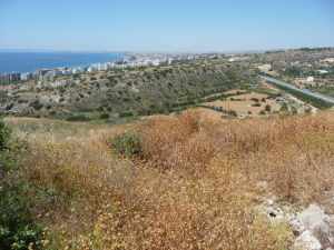 Výhľad z akropole na Limassol