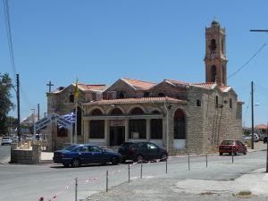 Jeden z mnohých ortodoxných chrámov v Limassole