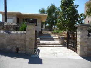 Pevnosť v Kolossi - Vstup do pevnosti