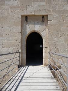 Pevnosť v Kolossi - Vchod do obrannej veže