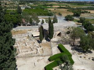Pevnosť v Kolossi - Pohľad z veže