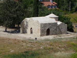Pevnosť v Kolossi - Maličký Chrám apoštola Lukáša z veže
