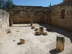 Pevnosť v Kolossi - Vnútro pevnosti