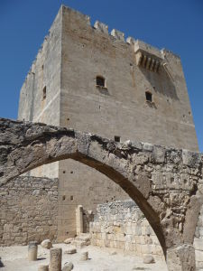 Pevnosť v Kolossi - Obranná veža