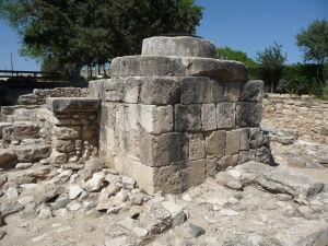 Pevnosť v Kolossi - Mlynské kolo