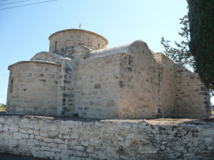 Maličký Chrám apoštola Lukáša v Kolossi