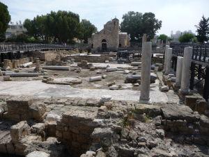 Kostolík z 13. storočia a pred ním zvyšky oveľa väčšej byzantskej baziliky