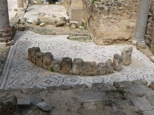 Mozaiky z byzantskej baziliky