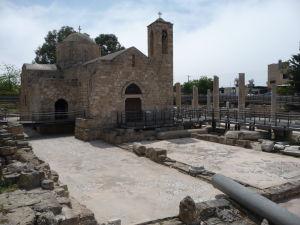 Kostolík a staré mozaiky