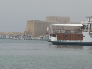 Pafoská pevnosť v rannom opare