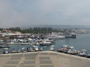 Výhľad na prístav zo strechy pevnosti