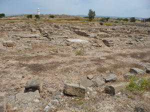Ruiny antického mesta a Pafoský maják
