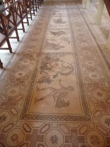 Dom Dionýza - Mozaika s motívom Dionýza, Akmé a Ikara