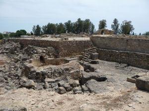 Ruiny Hradu 40 stĺpov - opevnenie