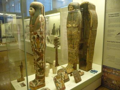 Egyptská časť expozície