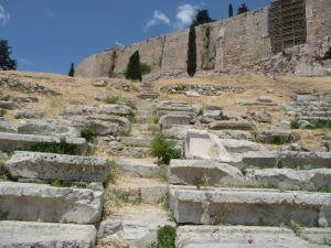 Dionýzovo divadlo - Miesta na sedenie