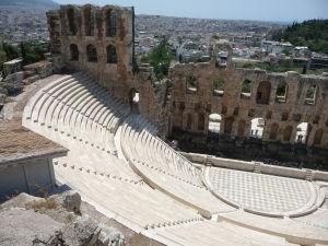 Dodnes funkčný Odeón Heroda Attica