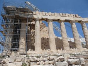 Partenón - Dórske stĺporadie