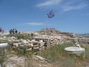Vyhliadková platforma na Akropoli