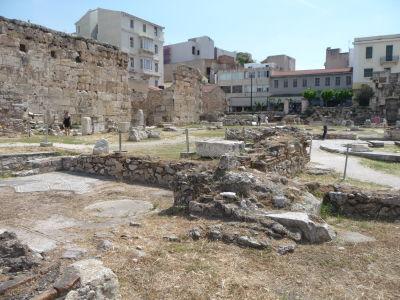 Okolie Hadriánovej knižnice