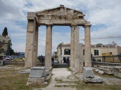 Rímska agora - Východná brána