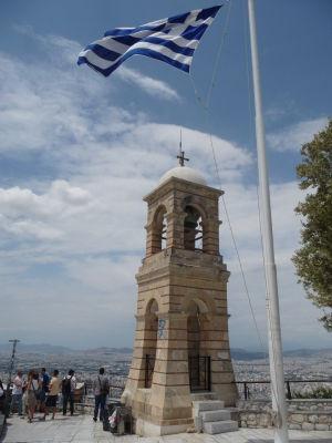 Zvonica na vrchole Lycabetus