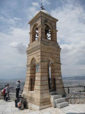 Zvonica na vrchu Lycabetus
