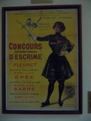 Plagát svetovej výstavy EXPO v Paríži - Druhá olympiáda sa v roku 1900 konala len ako vedľajšia súčasť tejto výstavy