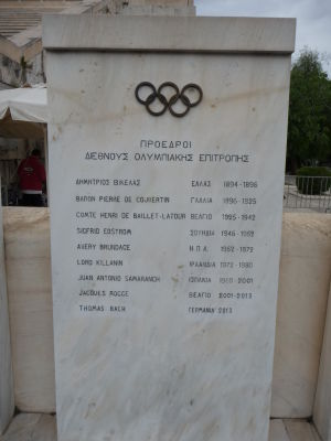 Zoznam predsedov Medzinárodného olympijského výboru