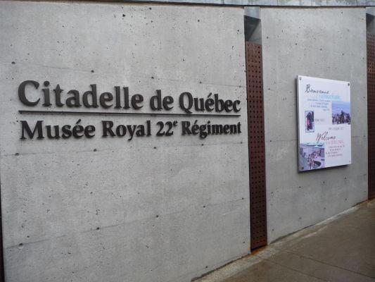 Múzeum v citadele v Québecu