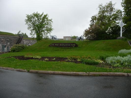 Citadela v Québecu a motto mesta