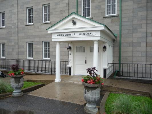Sídlo generálneho guvernéra Kanady (zástupcu kráľovnej) v citadele v Québecu