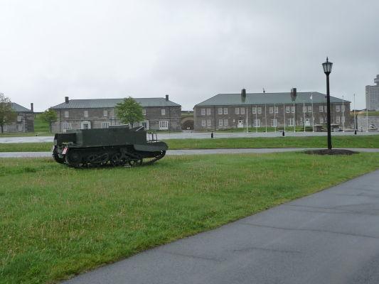 Citadela v Québecu funguje aj ako malé vojenské múzeum