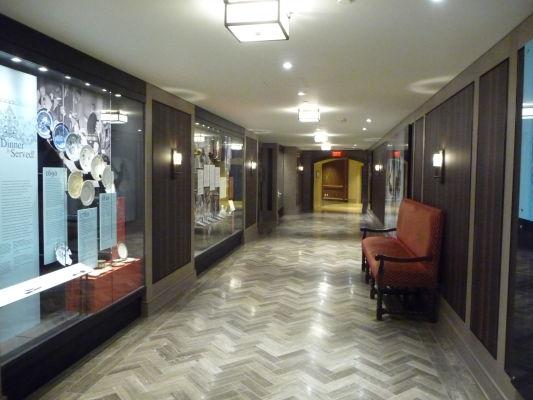 Vnútorné priestory hotela Le Château Frontenac v Québecu