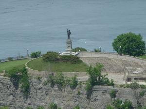 Veža mieru (Peace Tower) - výhľad na Nepean Point