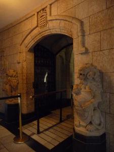 Centrálny blok parlamentu - vstup do Memorial Chamber